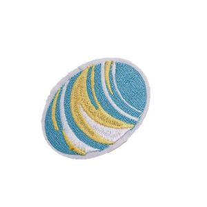 Admirable Multicolored Planet Embroidery Patch