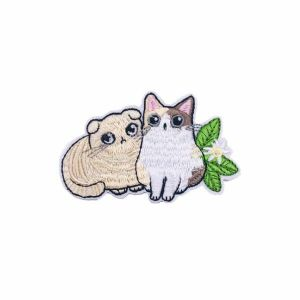British Shorthair and Exotic Short Cat Embroidery Patch