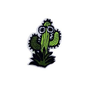 Funky Cool Cactus Plant Bush Embroidery Patch