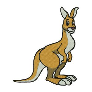 Kangaroo Embroidery Designs