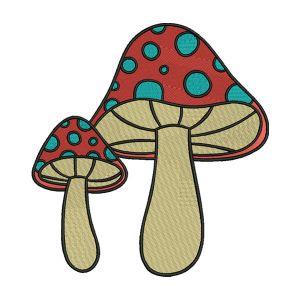 Mushroom Embroidery Designs