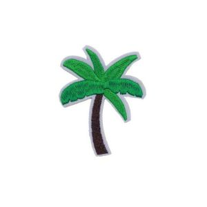 Tropical Palm Tree Embroidery Patch