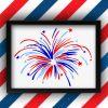 Independence Day Fireworks Vector | Fireworks Vector | US Firework Vector File | 4th of July Fireworks Vector