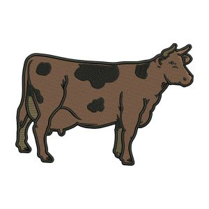 Cow Embroidery Designs