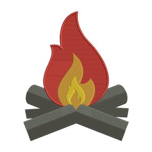Flame Embroidery Designs