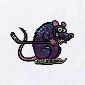 Rodent Embroidery Designs