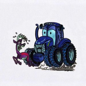 Tractor Embroidery Designs