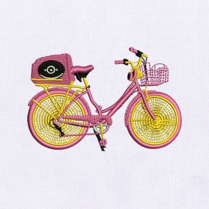 Bicycle Embroidery Designs