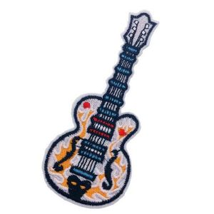 Iron-on Guitar Patch