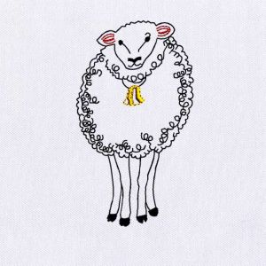Sheep Embroidery Designs