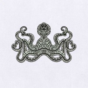 Octopus embroidery designs