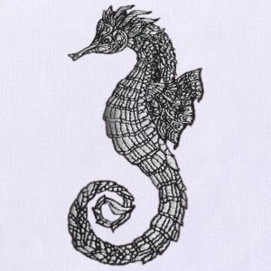 Seahorse Embroidery Designs
