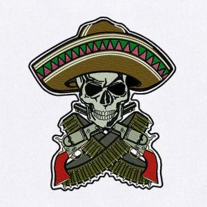 Skull Embroidery Designs