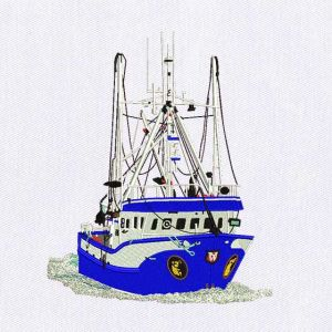 Ship Embroidery Designs
