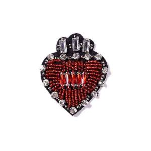 Love Symbol Crystal Beads Patch