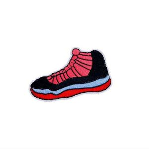 Shoe Embroidered Patch