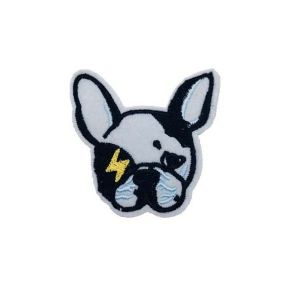 Boston Terrier Puppy Head Patch