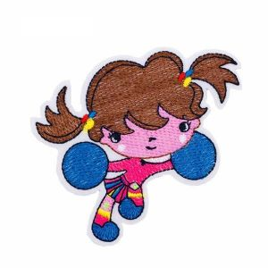 Cheerleader Girl Patch