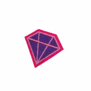Colorful Diamond Iron on Patch