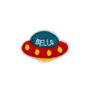 Multi Color Flying UFO Patch
