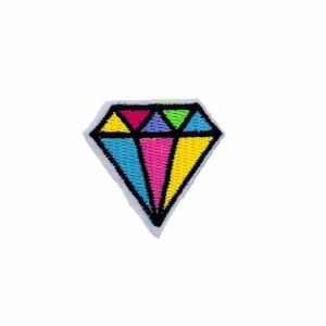 Diamond Iron on Patch