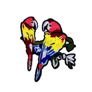 Rainbow Color Parrot Patch