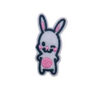 Rabbit Embroidery Patch
