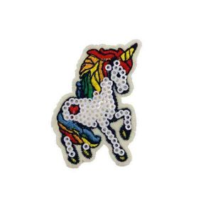 Colorful Unicorn Embroidery Patch