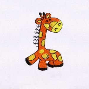 Giraffe Embroidery Designs
