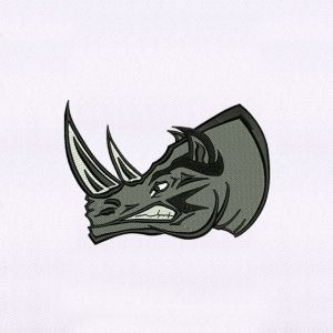 Rhinoceros Embroidery Designs