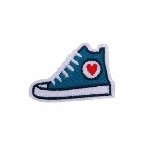 Embroidered Converse Shoe Patch