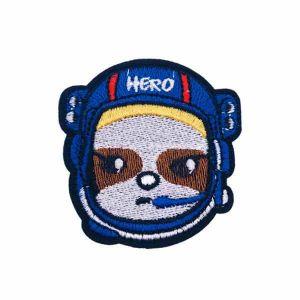 Blue Hero Helmet Patch
