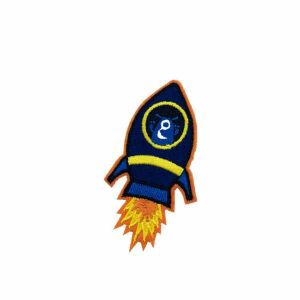 Space Rocket Patch