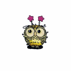 Funny Owl Patch