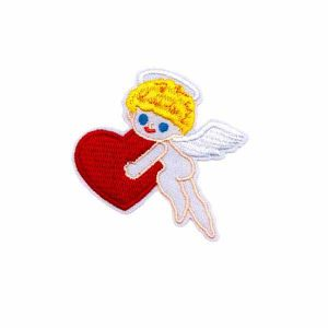 Cupid Embroidered patch