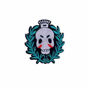 Skull Dead Embroidery Patch