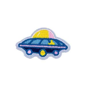 Flying Colorful UFO Patch