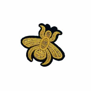 Honey Bee Embroidery Patch