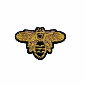 Golden Honey Bee Patch Iron on