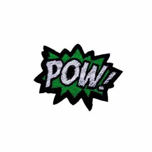 Green POW Label Patch