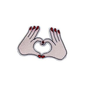 Hands Heart Patch