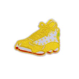 Yellow Gym Shoe Patch