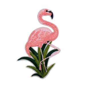 Flamingo Iron on Patch