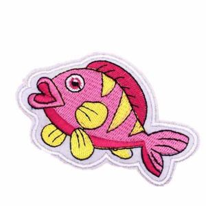 Pink Fish Patch
