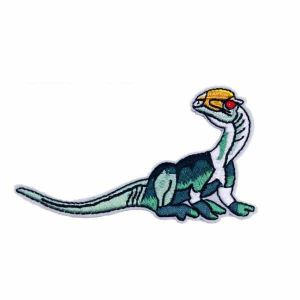 Raptor Embroidered Dinosaur Patch