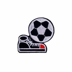 Shoe and Football Patch