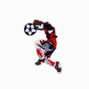 Soccer Ball Player Patch