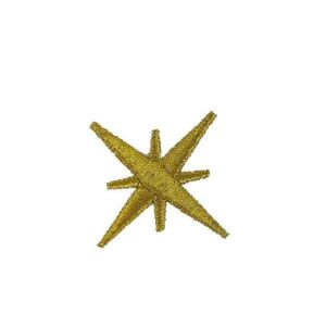 Christmas Tree Star Embroidery Patch
