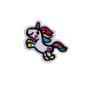 Cute Little Jumping Unicorn Patch