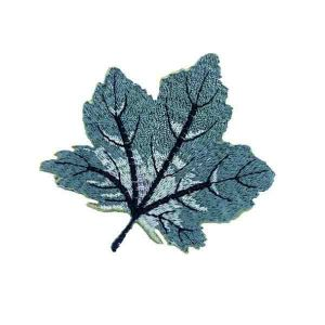Green Maple Leaf Patch